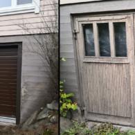 1-Satagroup-uuden-ulko-oven-nosto-oven-asennus-autotalliin